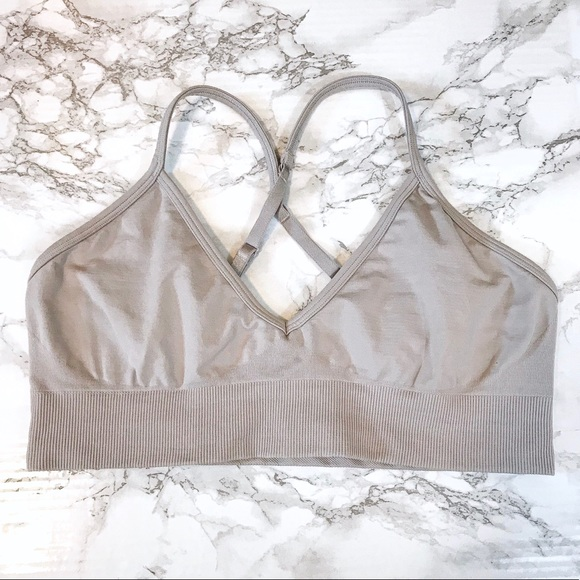 lululemon athletica Other - LULULEMON Gray/Purple-Ish Sports Bra Unpadded